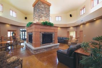 Holz Pavilion Fireplace