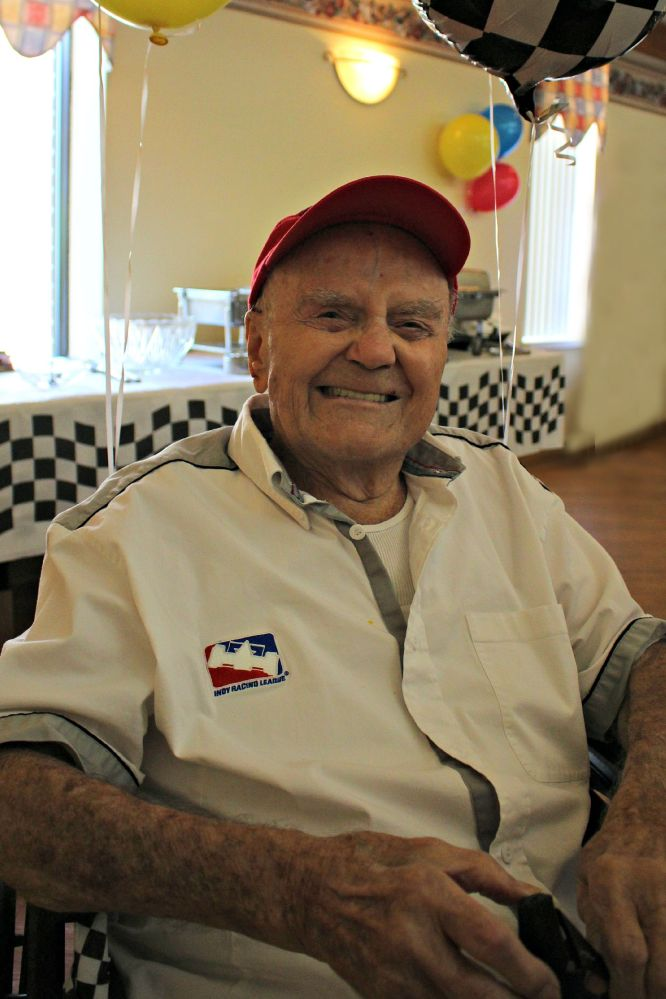 """Frank Burany Turns 100 - """"It's just another day"""" (1/4)"""