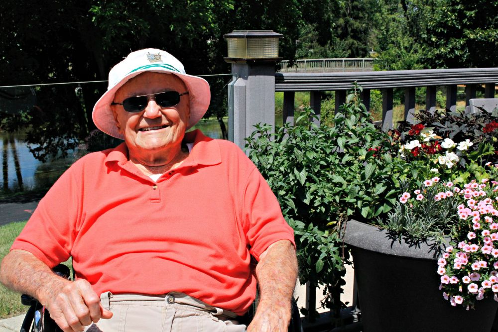 """Frank Burany Turns 100 - """"It's just another day"""" (3/4)"""