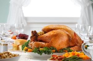 thanksgiving meal, family, gathering, dinner, turkey