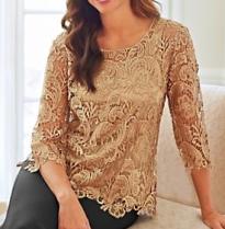 try crochet lace